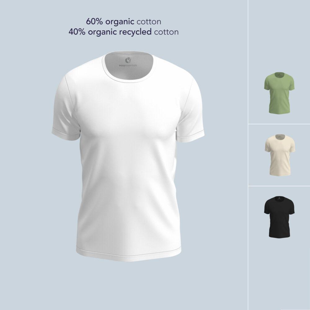 Tshirts recycled organic cotton